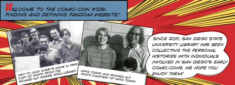 welcome comic themed image with founders